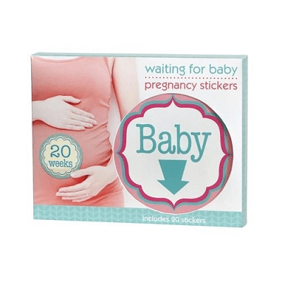 Waiting for Baby - Pregnancy Belly Stickers