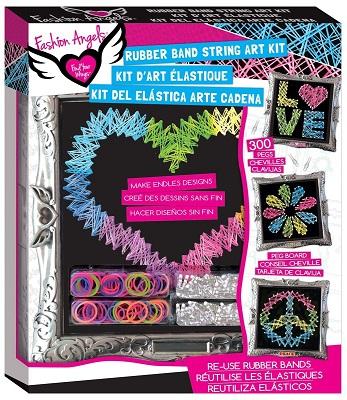 Rubberband String Art Design Kit