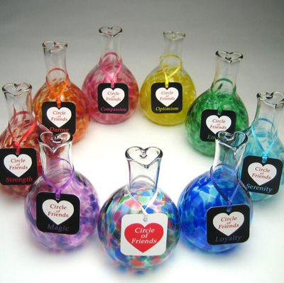 Circle of Friends Glass Vases - Assorted