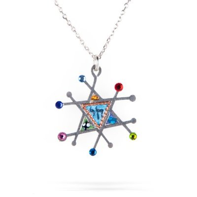 Star of David Necklace by Seeka