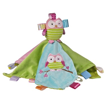 Taggies Oodle Owl Character Blanket