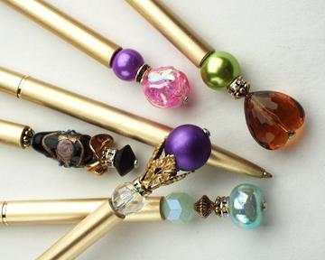 Limited Edition Brass Desk Pens