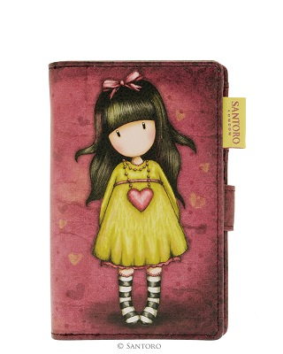 Gorjuss Small Wallet - Heartfelt