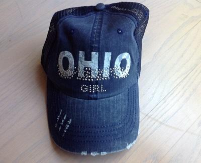 Ohio Girl Navy Mesh Hat