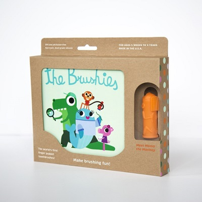 Brushies Book - Momo Brushie the Monkey