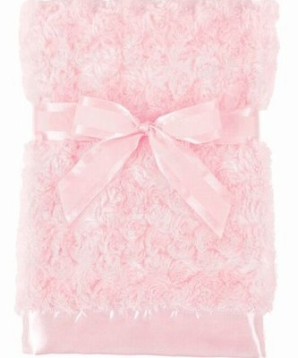 Swirly Snuggle Blanket - Pink