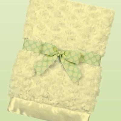 Swirly Snuggle Blanket - Limeade