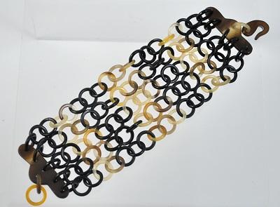 Buffalo Horn Multi-Strand Bracelet