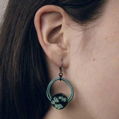 Neo Lichen Earring