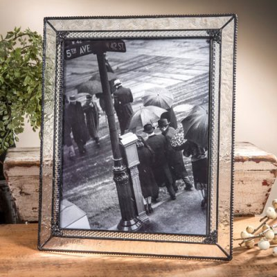 8x10 Easel Back Glass Frame