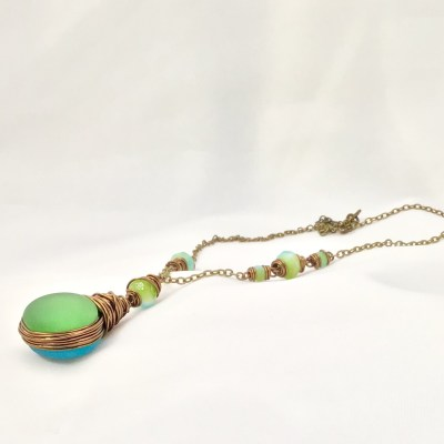 Frosted Bubble Pendant - TQ-PD FR