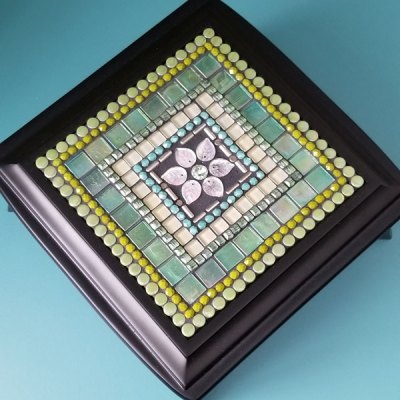 Mosaic Jewelry Box - Mojito