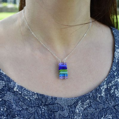 Stack Necklace-Lagoon