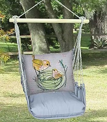 Birds in Nest Swing Set