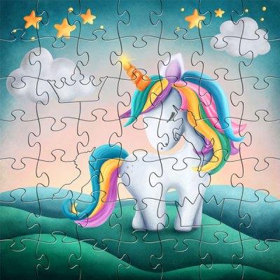 Zen Peapod Puzzle - My Little Unicorn