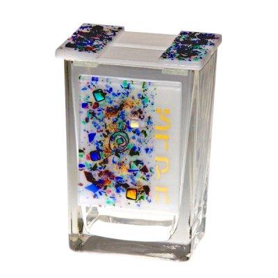 Glass Taedakah Box - Celestial