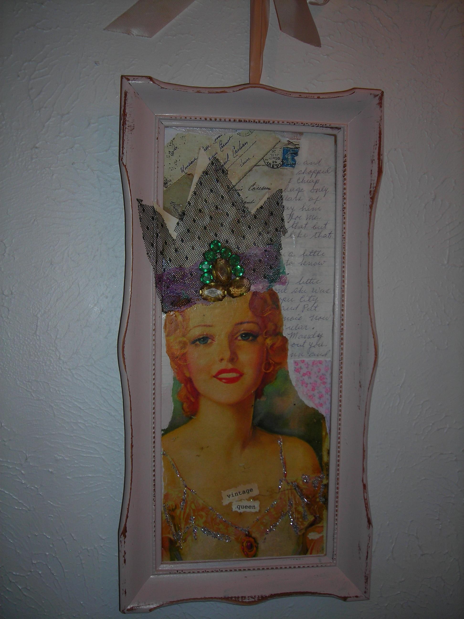 Vintage Queen, by Sue. Gosh, I love this piece!