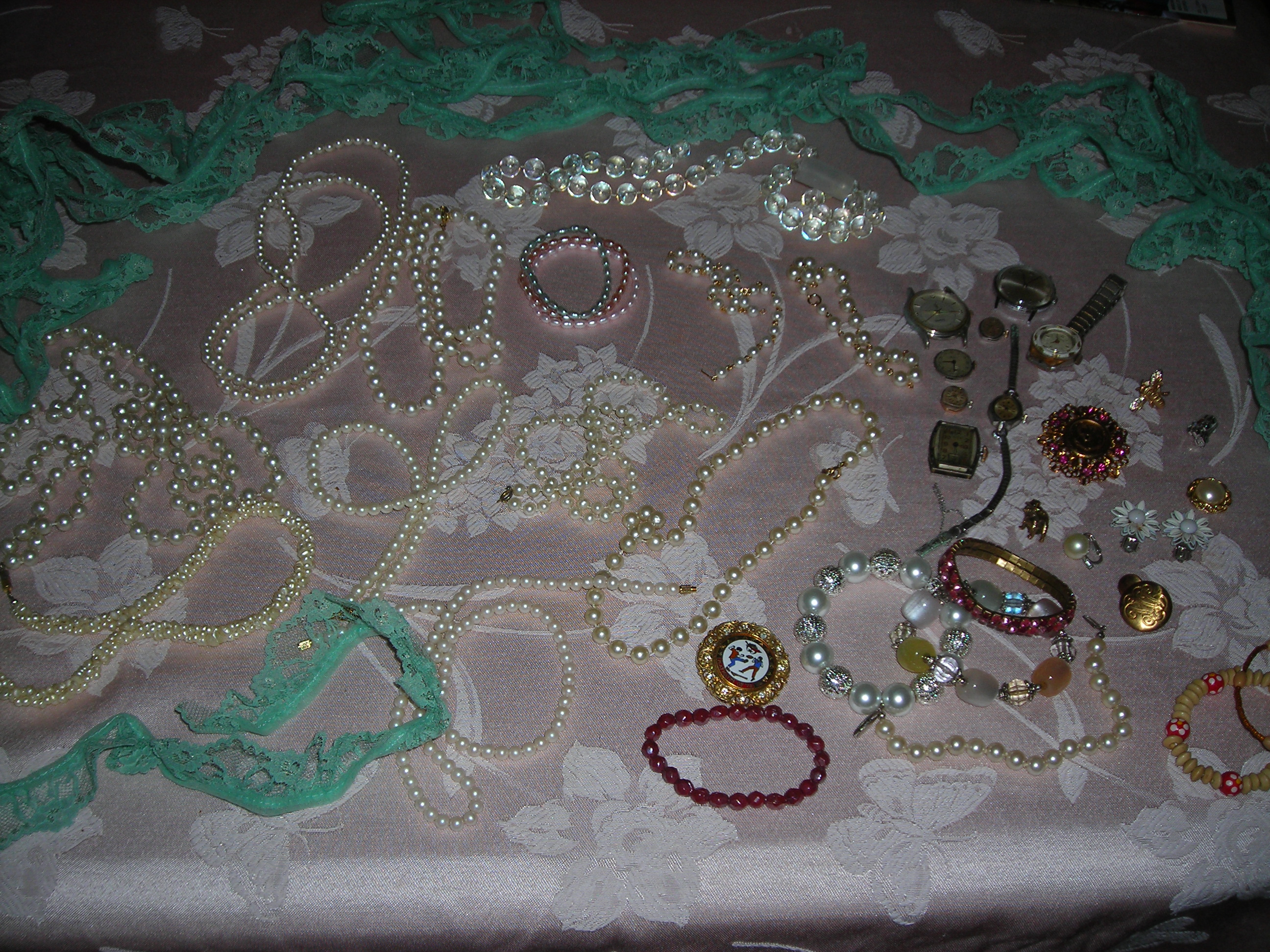 bling loot from the yard sale