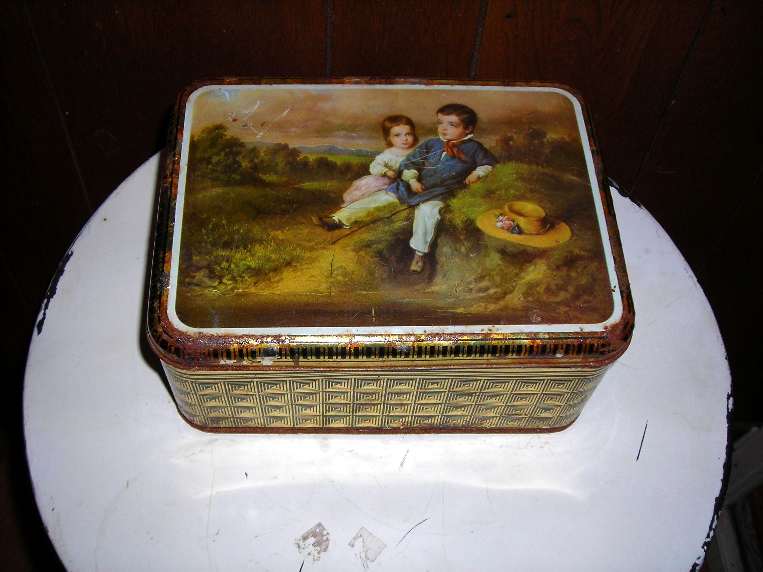 old tin ... too sweet