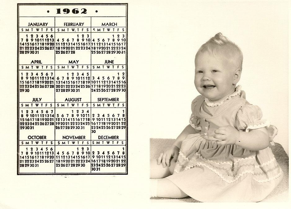 i love, i love, i love my little calendar girl! 1962 was a VERY good year!
