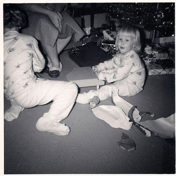 my sister and me, cmas 1963