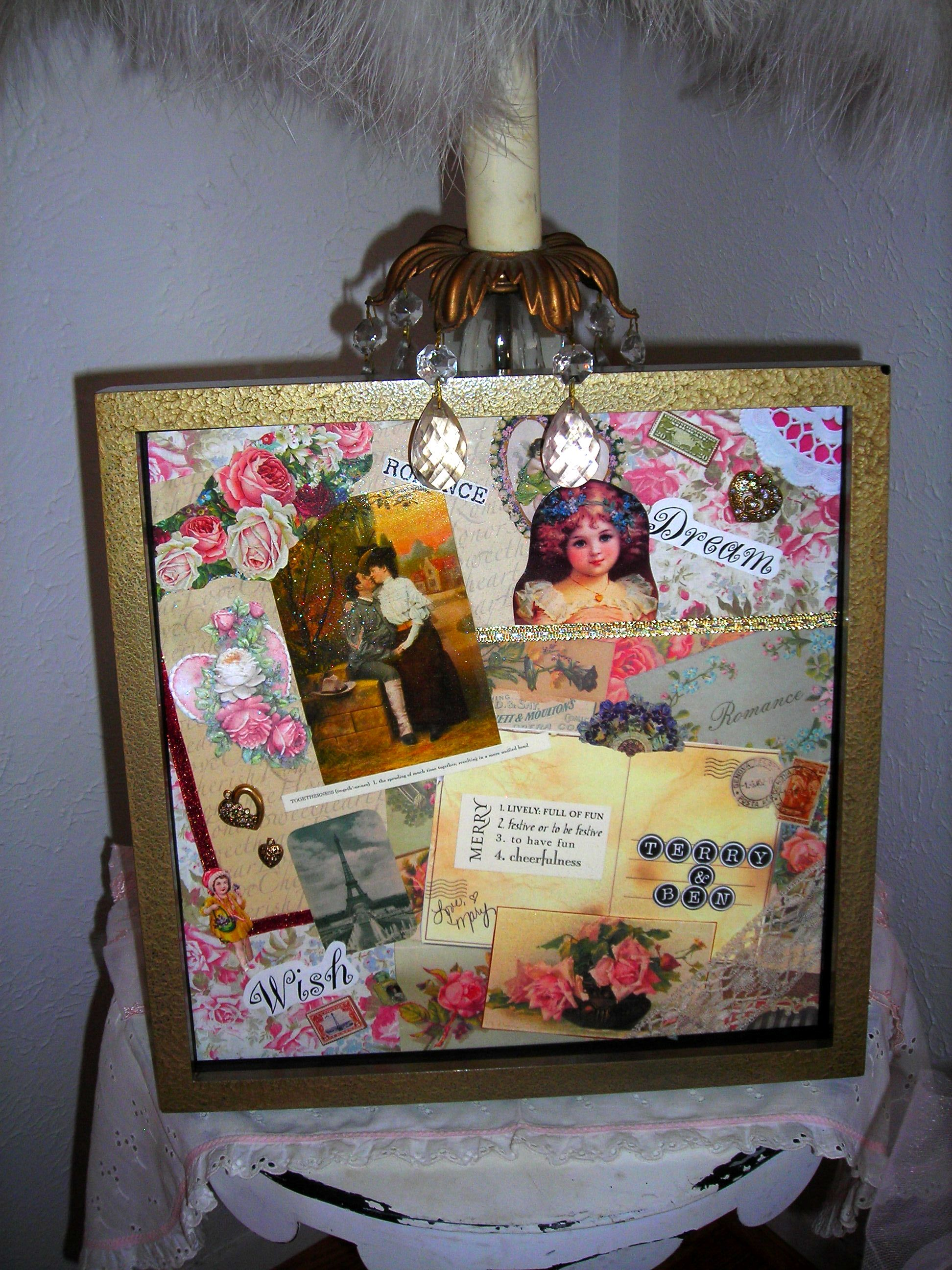 dear, sweet, mary (she's such a valentine!) made this collage for me for cmas. it's soooo perfect!!! i love it, mary!