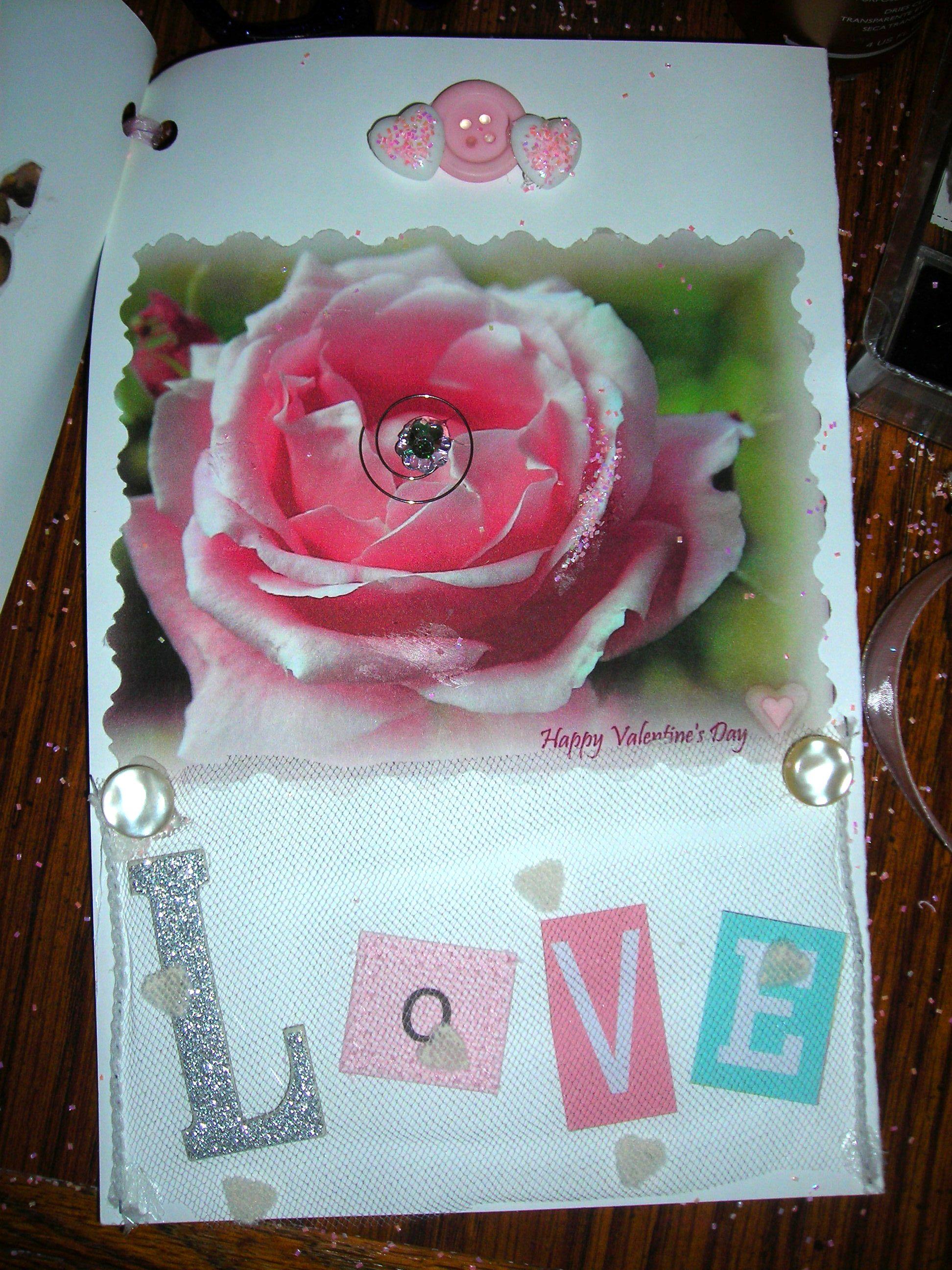 inside of tara's valentine card