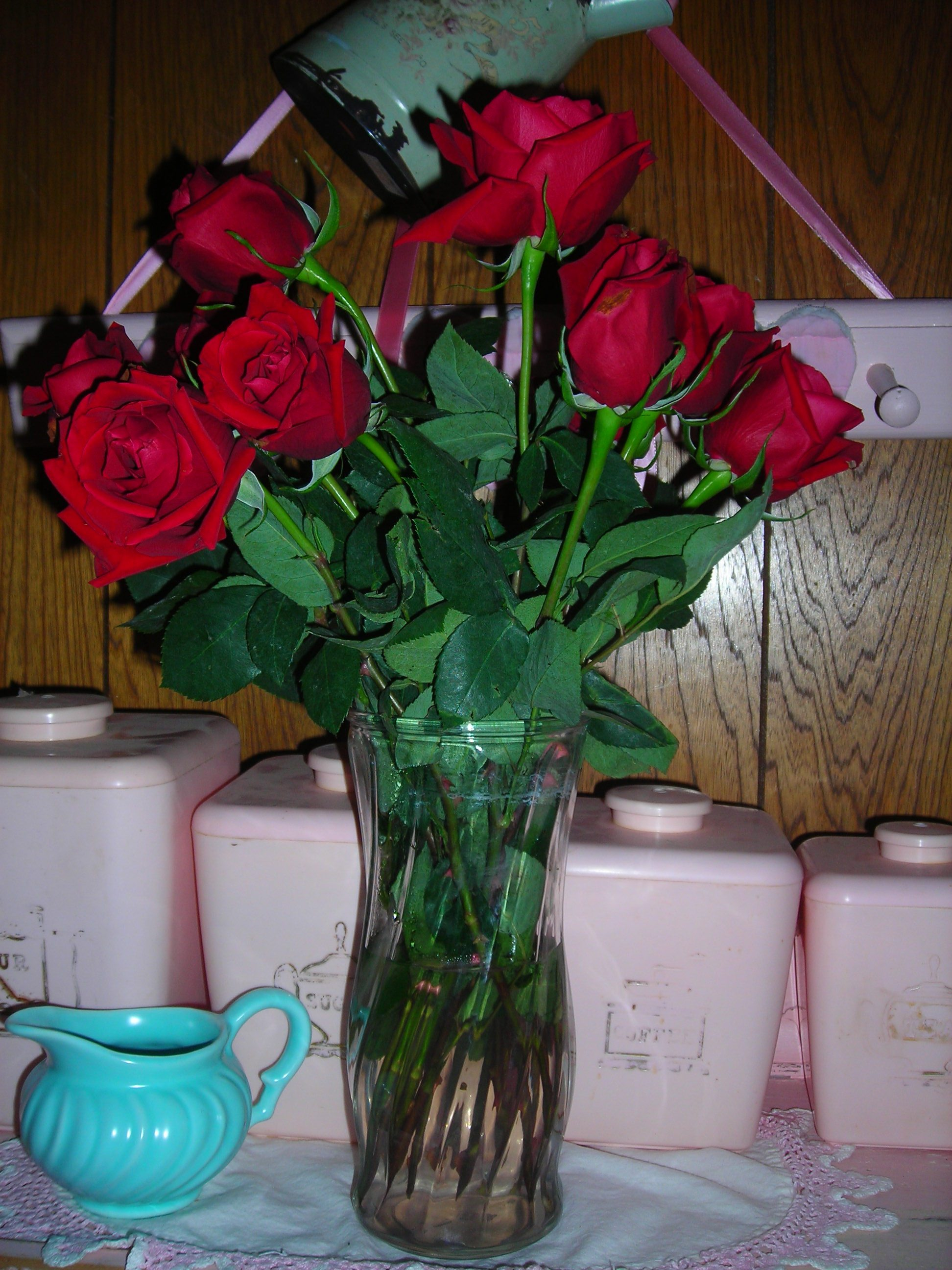 a dozen 'i love yous' from my valentine ben