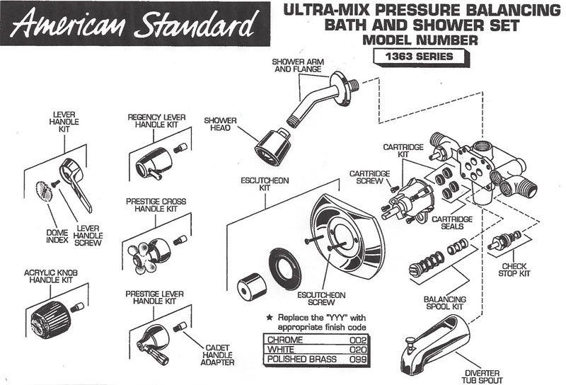 american standard 066269 0070a shower