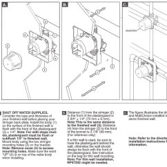 Delta Monitor Shower Faucet Diagram Dinner Table Setting R10000 Valve - Basic Copper Piping System Design | Terry Love Plumbing & Remodel Diy ...