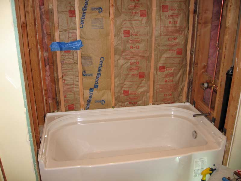 Sterling Accord bathtub installation with pictures  Terry Love Plumbing  Remodel DIY