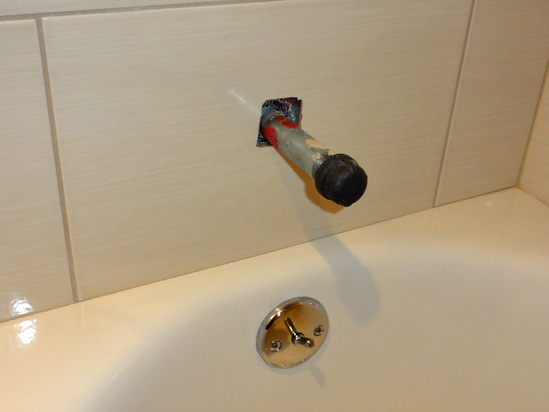 Installing A New Bathtub Grohe Tubshower Valve Americast Terry Love Plumbing Amp Remodel DIY