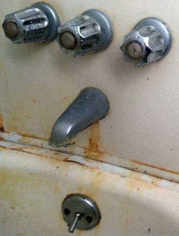 old gerber tub plumbing replacing