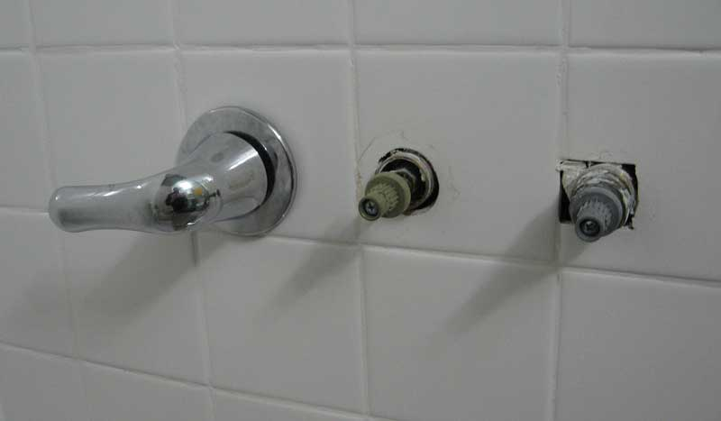 Replacing A Three Handle Tub Shower Faucet With Moen Posi Temp Terry Love Plumbing Amp Remodel