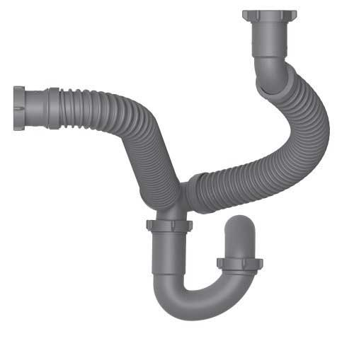 is flexible drain kit appropriate for