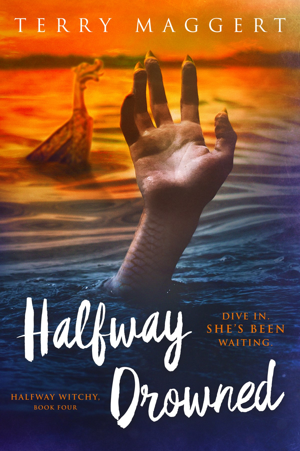 witchy fantasy series halfway drowned