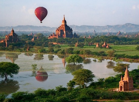 Burma by Baloon