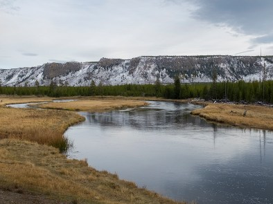 Madison River, Yellowstone National Park.