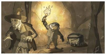 http://www.deviantart.com/art/Discworld-Colour-of-Magic-73827514