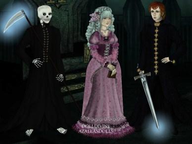http://eolewyn1010.deviantart.com/art/Discworld-Family-of-Death-491262834