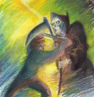 http://voldy-pet.deviantart.com/art/DW-Mort-vs-Death-93792980