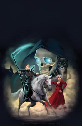 http://katea.deviantart.com/art/Terry-Pratchett-Mort-cover-illustration-534406822