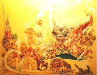 Artist: Josh Kirby (Used on several editions - also foreign)