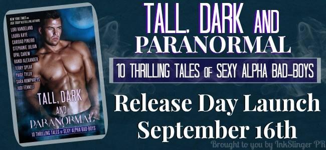 Tall, Dark and Paranormal Blog tour