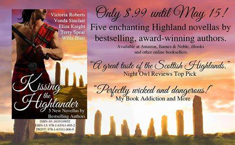 kissing the highlander sale