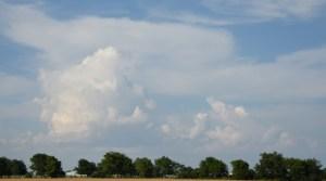 Line of Thunderstorms, Original Photo