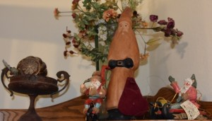 Leather Santa