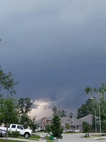 storm clouds neighborhood