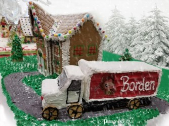 Borden Truck Gingerbread House2