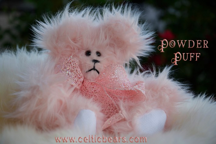 Powder puff bear 1000 011